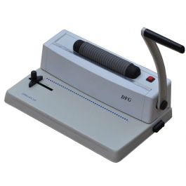 Dfg Office Ecoil Electric Plastic Coil Binding Machine