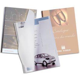 Unibind Steelmat Matte Binding Covers 7mm 8 1 2 Quot X 11 Quot