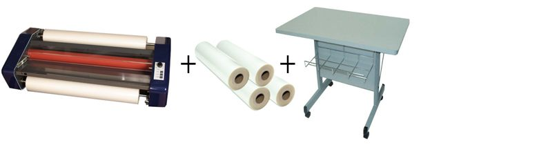 """Sircle Epic 27"""" Roll Laminator Package 2"""