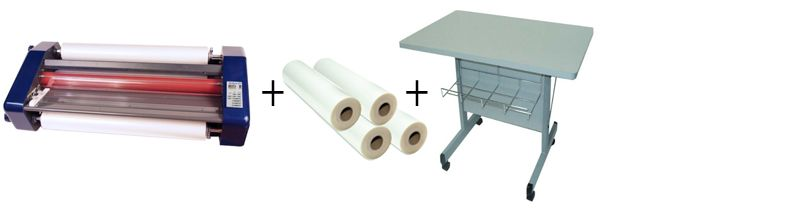 """Sircle Eclipse 27"""" Roll Laminator Package 2"""