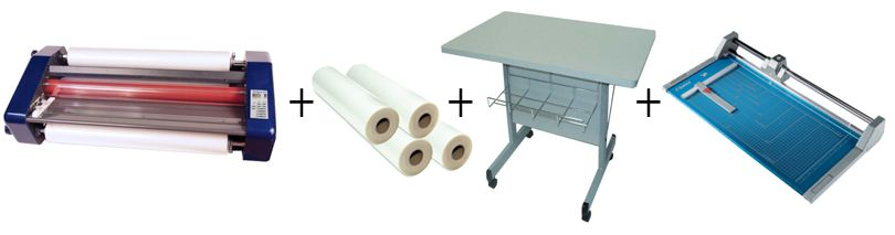 """Sircle Eclipse 27"""" Roll Laminator Package 3"""