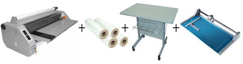 D&K MiniKote EZ Roll Laminator Package 3