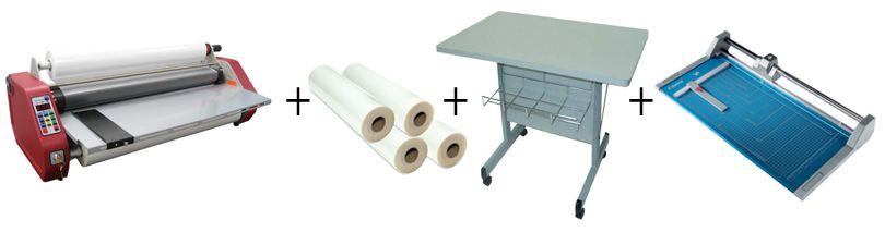 D&K MiniKote G2 Roll Laminator Package 3