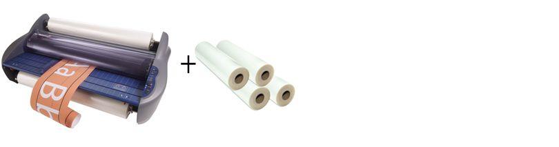 GBC Pinnacle 27 Roll Laminator Package 1