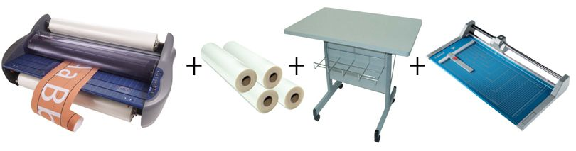 GBC Pinnacle 27 Roll Laminator Package 3