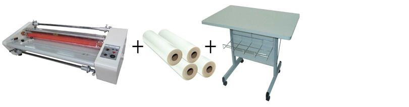 """Budget 2700 - 27"""" Roll Laminator Package 2"""