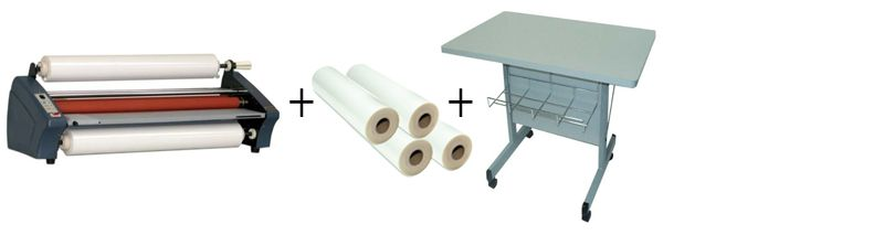 TCC Easy One Roll Laminator Package 2