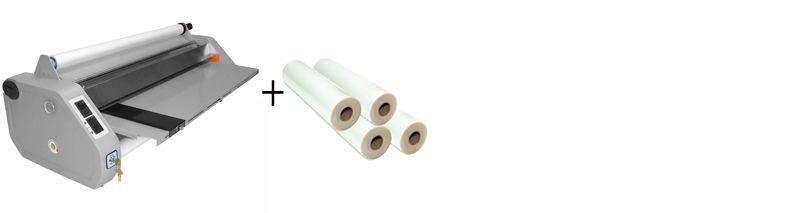 D&K MiniKote EZ Roll Laminator Package 1