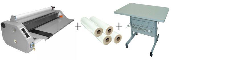 D&K MiniKote EZ Roll Laminator Package 2