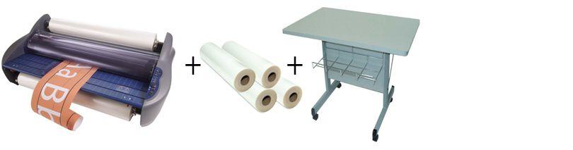 GBC Pinnacle 27 Roll Laminator Package 2