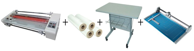 "Budget 2700 - 27"" Roll Laminator Package 3"