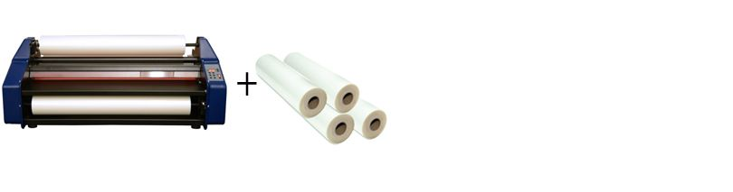 """Banner Easy Lam Budget Saver 27"""" Roll Laminator Package 1"""