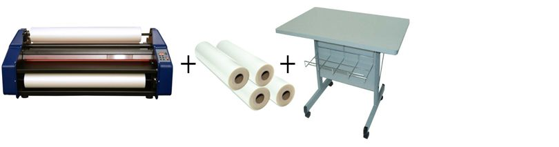 "Banner Easy Lam Budget Saver 27"" Roll Laminator Package 2"