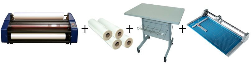 "Banner Easy Lam Budget Saver 27"" Roll Laminator Package 3"