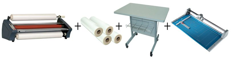 TCC Easy One Roll Laminator Package 3