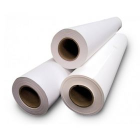 "51"" x 150ft White Double-Sided Mounting Adhesive - Permanent/Permanent"