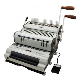 Akiles DuoMac-C41ECI Plastic Comb and Coil Binding Machine