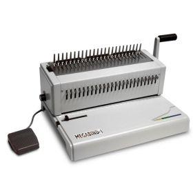 Akiles MegaBind-1E Plastic Comb Binding Machine