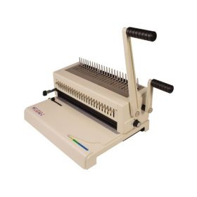 Akiles MegaBind-2 Plastic Comb and Spiral-O Wire Binding Machine