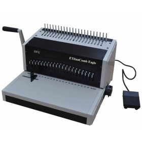 E-TitanComb Eagle Extra Heavy Duty Electric Punch Comb Binding Machine
