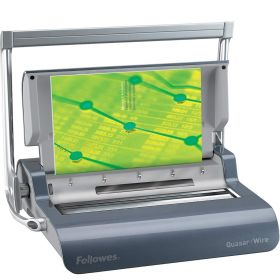 Fellowes Quasar Wire Binding Machine