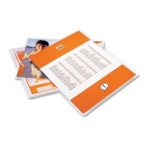GBC SelfSeal Repositionable Letter Size Laminating Pouches