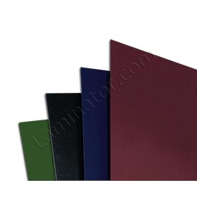 Leatherette Regency Premium Index Allowance Covers 9 By 11 inch Square Corner (15 Point)