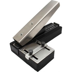 Stapler Style Slot Punch with Guide