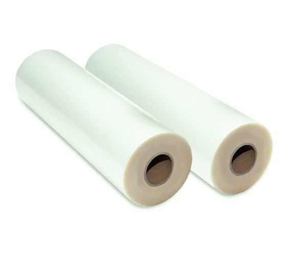 "1 Roll SuperStick Hot Laminating Film 12/"" x 500/' on 1/"" core 1.5 Mil Clear"