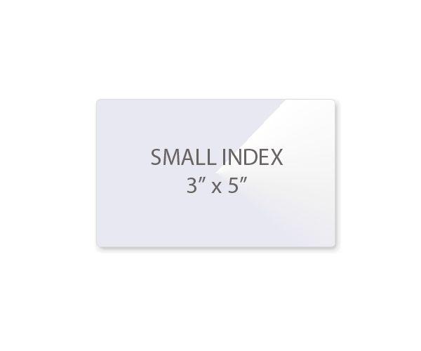 Small Index Card Laminating Pouches Laminator Com