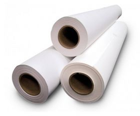 "38"" x 150ft White Double-Sided Mounting Adhesive - Permanent/Permanent"