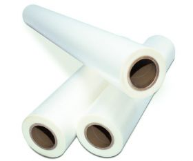 "5 mil - 43"" x 500' Clear Low Melt Roll Laminating Film"