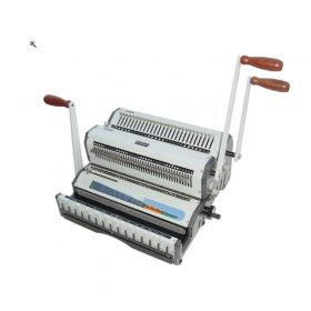Akiles DuoMac-421 Plastic Coil and 2:1 Wire Binding Machine-p