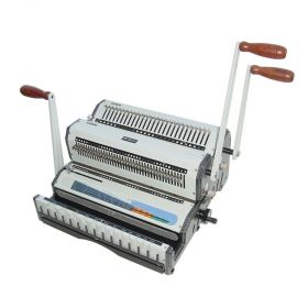 Akiles DuoMac-C41 Plastic Comb and Coil Binding Machine-p