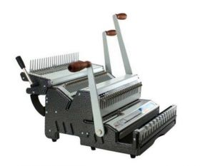 Akiles DuoMac-C31 Plastic Comb and 3:1 Wire Binding Machine-p
