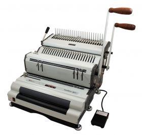 Akiles DuoMac-C41ECI Plastic Comb and Coil Binding Machine