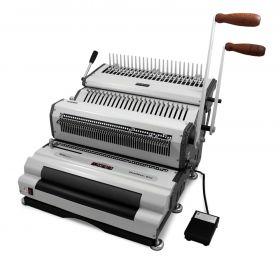 Akiles DuoMac-C41ECI+ Plastic Comb and Coil Binding Machine-p
