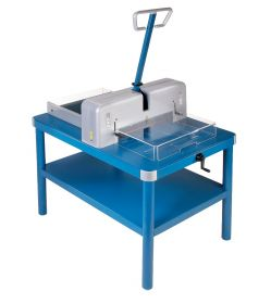 Premium Series Model 858 Stack Cutter with Stand from Dahle