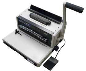 DFG EC1800 Manual Plastic Coil Binding Machine