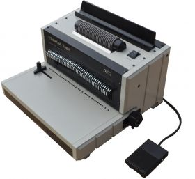 ETitanCoil Eagle Heavy Duty Plastic Coil Binding Machine