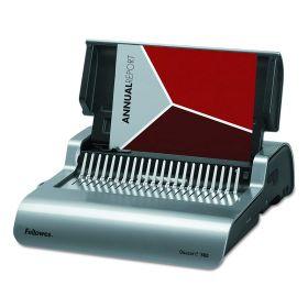 Fellowes Quasar E Electric Punch Plastic Comb Binding Machine