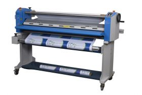 "GFP 563TH-3 MaxPro 63"" Wide Format Top Heat Pressure Sensitive Roll Laminator"