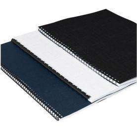 "Premium Linen Weave Covers - 8-1/2"" x 11"" - No Window (90# Bond)"