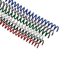 Spiral Coil Binding Supplies 16mm 0.62 inch Inside Diameter