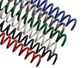 Spiral Coil Binding Supplies 18mm 0.68 inch Inside Diameter