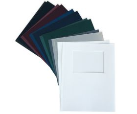 UniBind 8.56 x 11.31 inch Leatherette Covers (With Window)
