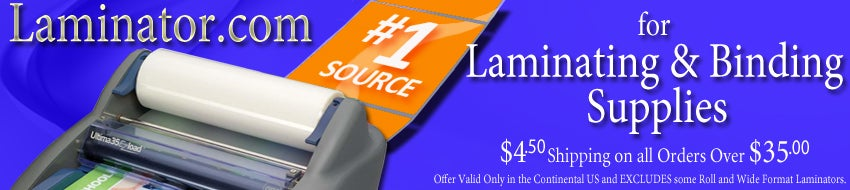 Laminator.com Your Source For Binding and Laminating Supplies