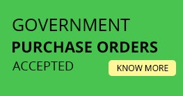 Government Purchase Orders Accepted