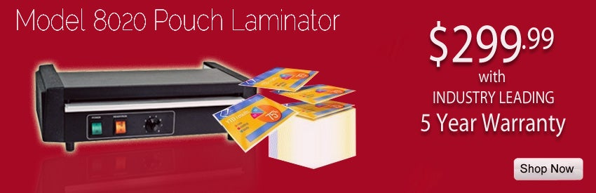 Buy Model 8020 Pro 12-9/16 inch Heavy Duty Pouch Laminator