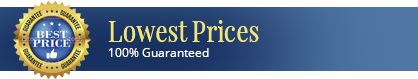 Lowest Prices 100% Guaranteed